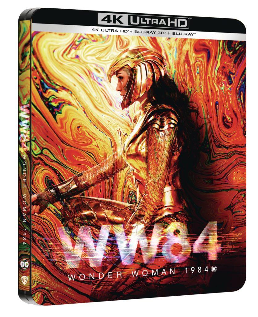 Le Combo 4K Ultra HD, Blu-ray 3D et Blu-ray et Wonder Woman 1984